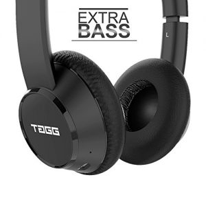 tagg powerbass 400 wireless bluetooth on ear headphones with microphone new