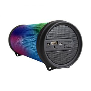 artis bt99 rgb wireless portable dynamic led bluetooth speaker with usb fm