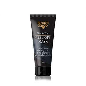 beardhood charcoal peel off mask skin detox instant glow benefits of