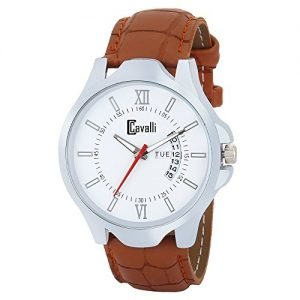 cavalli exclusive series white dial day date analogue boys and mens