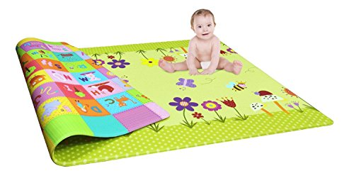 DOMENICO Fantasy India Double Sided Water Proof Baby Mat ...