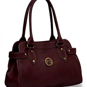 fostelo womens handbag maroon fsb 391