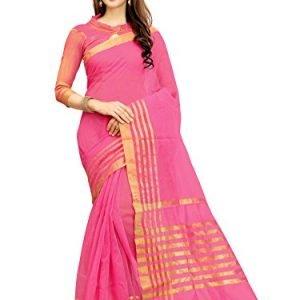 glory sarees silk saree with blouse piece jari123pinkfree size