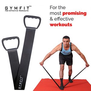 gymfit fitness band for exercise through stretch and resistance