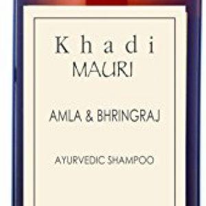 khadi mauri herbals amla and bhringraj herbal shampoo 210ml