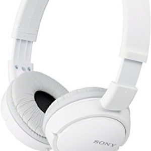 sony mdr zx110a on ear stereo headphones white