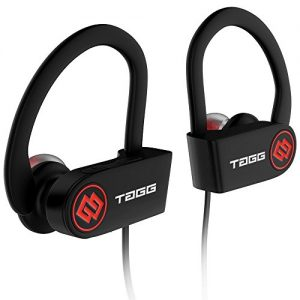 tagg inferno wireless bluetooth earphone with mic carry case black
