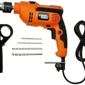 black decker kr554re 550 watt 13mm variable speed reversible hammer drill