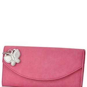 butterflies womens wallet pink bns 2320 pk