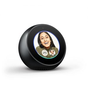 echo spot stylish echo with a screen make video calls voice control your