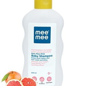 mee mee mild baby shampoo with fruit extracts 500ml