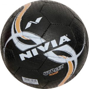 nivia street football size 5pack of 1 black