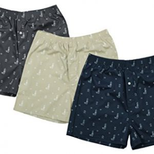 the cotton company mens cotton printed boxer shorts pack of 3
