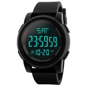 addic sports digital black dial mens watch skmeimw73a