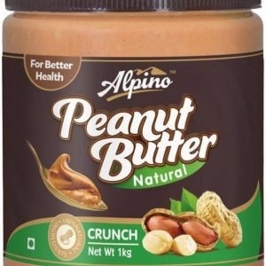 alpino natural crunch peanut butter unsweetened 1 kg