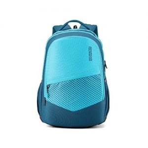american tourister 295 ltrs teal casual backpack amt mist sch bag02 teal
