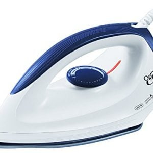 orpat oei 187 1200 watt dry iron white and blue