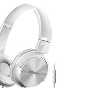 philips shl3095wt94 dj style monitoring headphone with mic white