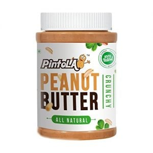 pintola all natural crunchy peanut butter 1kg unsweetened non gmo gluten