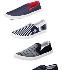 scatchite mens black canvas casual shoes 10 pack of 5