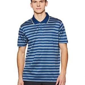 colorplus mens striped slim fit polo cmkf13675 b5medium blue00l