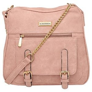 elliza donatein womens zipper closure sling bag