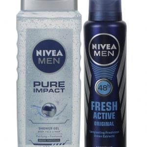 nivea fresh and pure combo