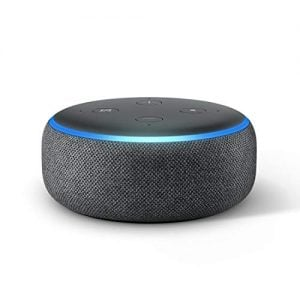 all new echo dot 3rd gen smart speaker with alexa black