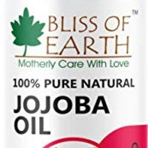 bliss of earth pure natural jojoba oil yellow 100ml