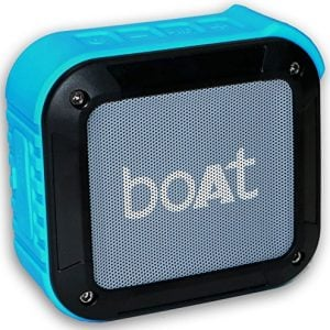 boat stone 200 portable bluetooth speakers blue