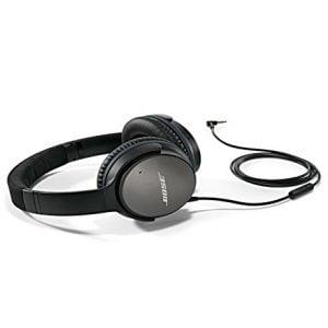 bose quietcomfort 25 acoustic noise cancelling headphones apple devices black