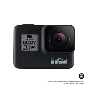 gopro chdhx 701 rw hero7 camera black with shorty bundle pack
