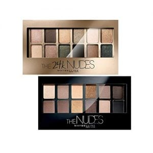 maybelline new york the nudes palette eyeshadow 9g maybelline new york the
