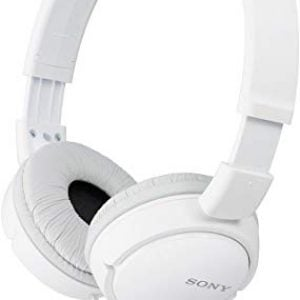 sony mdr zx110a on ear stereo headphones white without mic