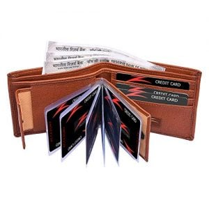 accezory brown mens wallet ll507