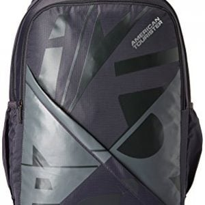 american tourister 27 ltrs grey casual backpack amt boom backpack 03 grey