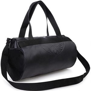 auxter blacky gym bag duffel bag emboss logo black
