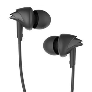 boat bassheads 100 in ear headphones with mic black