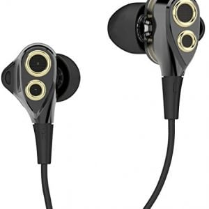 boat nirvanaa deuce dual drivers earphones black