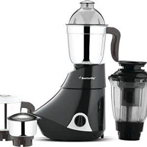 butterfly smart 750 watt mixer grinder with 4 jar grey