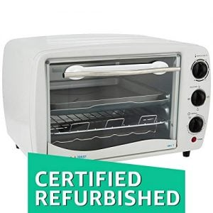 certified refurbished bajaj 1603t 16 litre oven toaster grill white