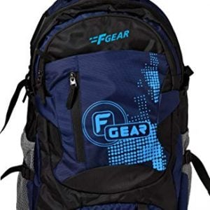 f gear orion polyester 46 ltrs navy blueblack trekking backpack 2555