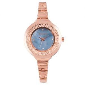 giordano analog blue dial womens watch c2043 11