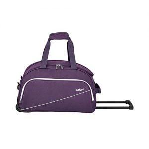 safari polyester 62 cms purple travel duffle pep65rdfl