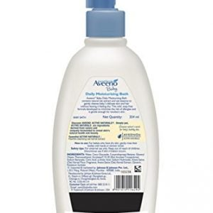 aveeno baby daily moisturising bath for delicate skin 354ml