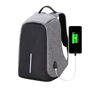 cool monkey anti theft backpack waterproof business laptop bag with usb