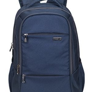 cosmus polyester navy blue laptop backpack for 156 inch