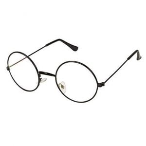 dannilo black round spectacle transparent frame sunglasses for mens and womens