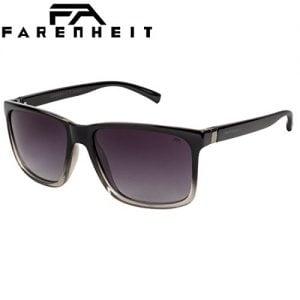 farenheit polarized wayfarer unisex sunglasses soc fa 2336p c155grey