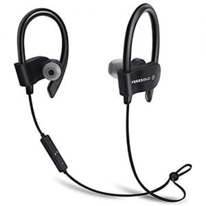 freesolo bluetooth 41 in ear noice isolating sport earbuds earphone black